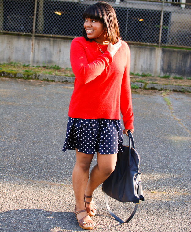 Lace & Pearls Polka Dot Dress 2