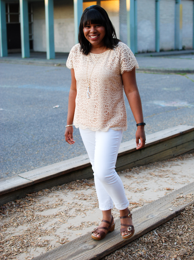 Lace & Pearls Lace top-2