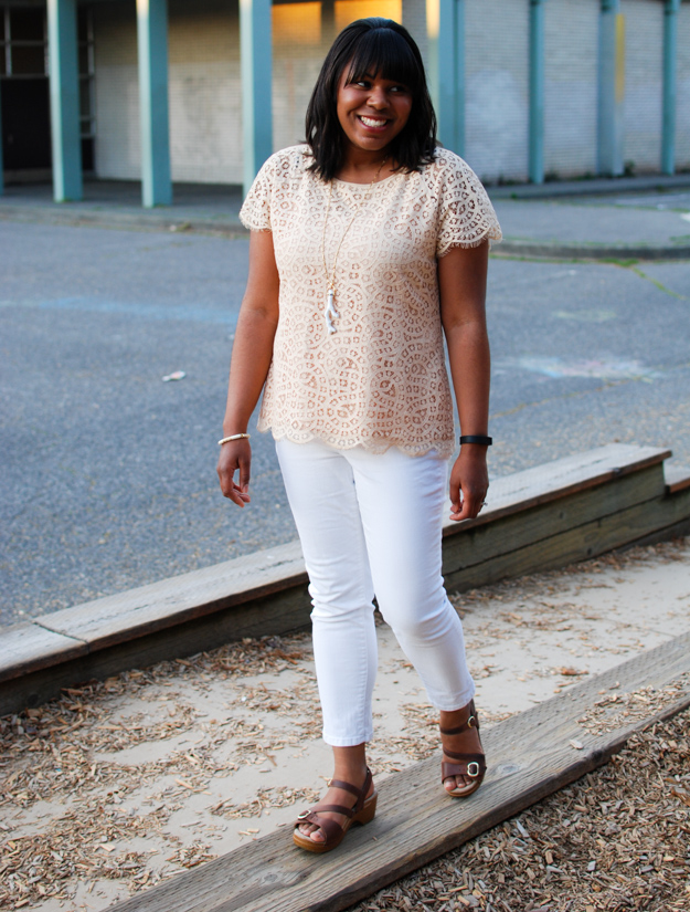 Lace & Pearls Lace top