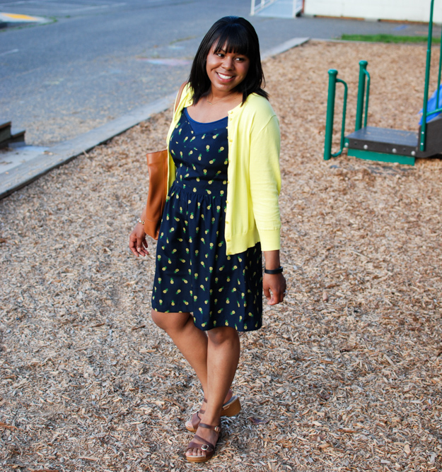 Lace & Pearls Pineapple dress 5