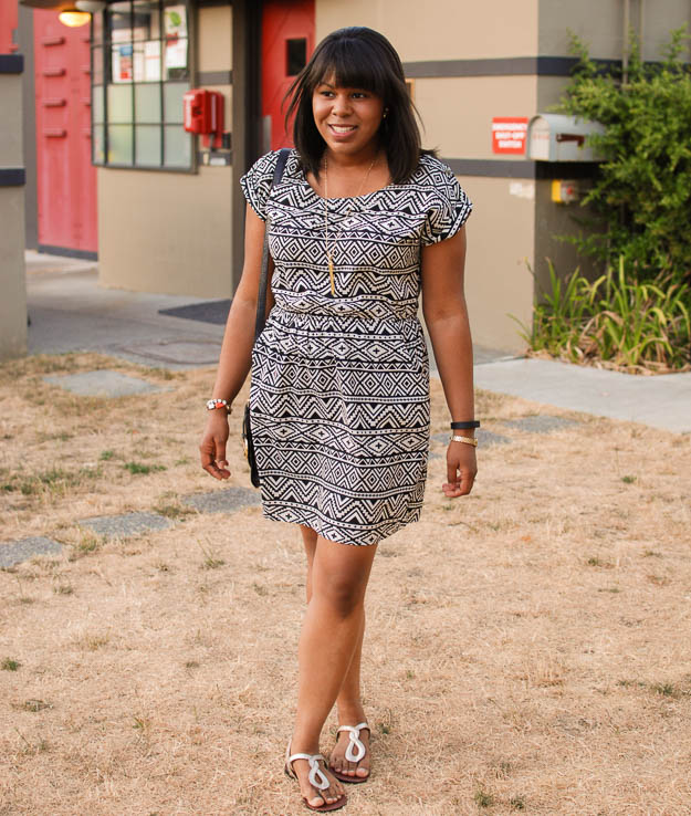 Lace & Pearls Aztec dress 3