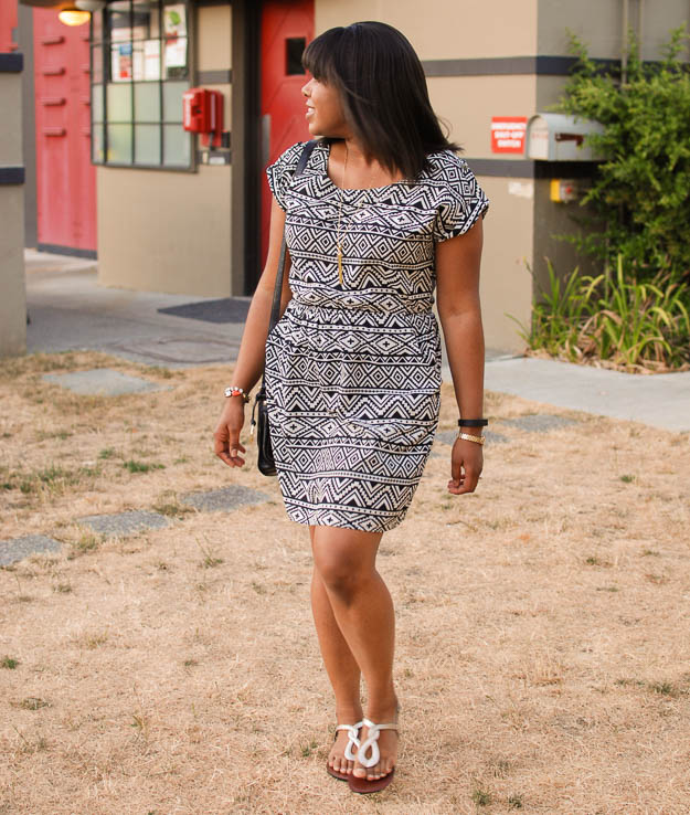 Lace & Pearls Aztec dress 4