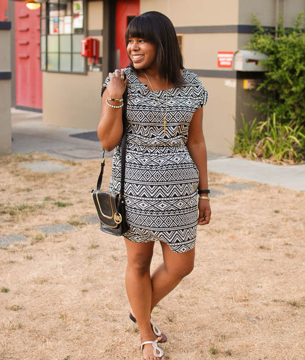 Lace & Pearls Aztec dress 5