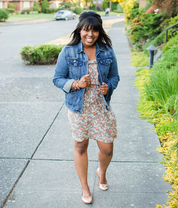 Lace & Pearls Floral Dress 1